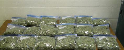 10 pounds of marijuana was found in a vehicle during a