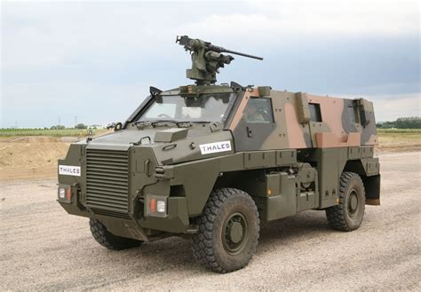 Jamaica orders further six Thales Bushmaster vehicles