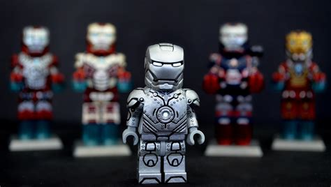 LEGO Iron Man : Mark II Suit   In addition to my movie