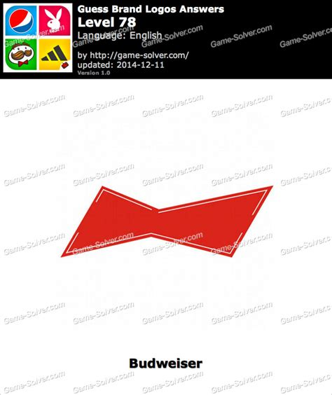 Guess Brand Logos Level 78 • Game Solver