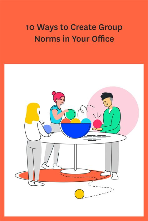 Setting group norms in your office will help people work