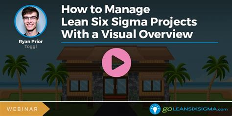 Webinar: How to Manage Lean Six Sigma Projects With a
