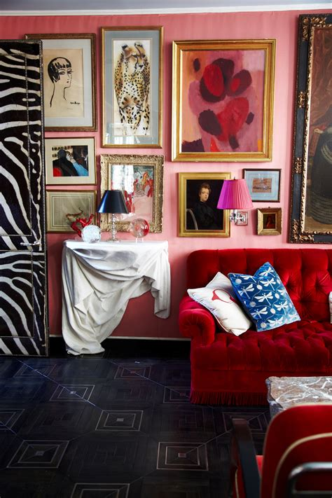 How to Decorate With Pink and Red: Tips from Miles Redd