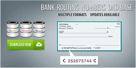 Download Routing Numbers List - Bank Routing Numbers