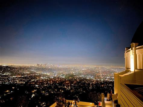 GRIFFITH OBSERVATORY - TEMP