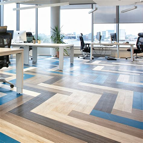 Luxury Vinyl tiles for Toggl head office