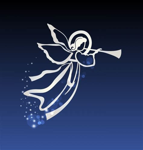 Angel wings guardian of the holy spirit (50 files