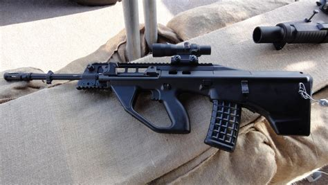 Thales/Steyr F90 and EF-88 AUG Rifle Review -The Firearm Blog