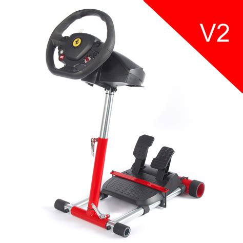 Wheel Stand Pro Red - stojan na volant a pedály pro