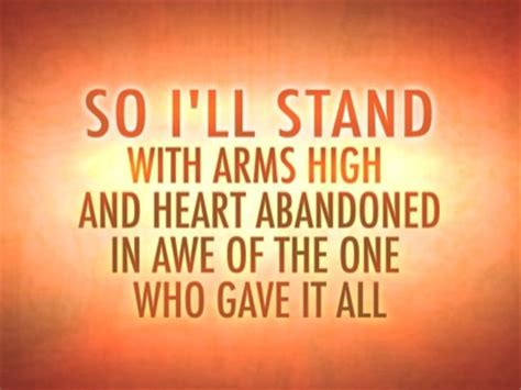 The Stand Video Worship Song Track with Lyrics | Hillsong