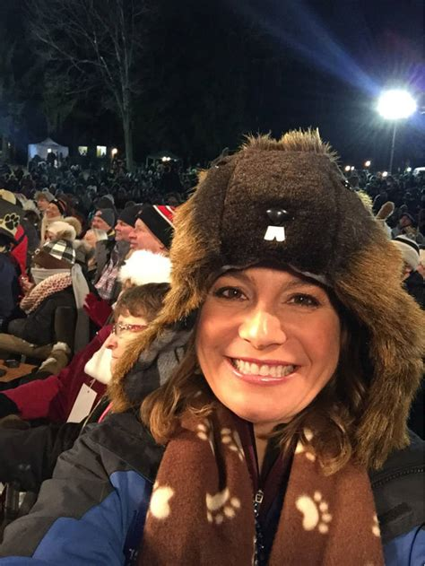 How Jen Carfagno (Literally) Gears Up for Groundhog Day