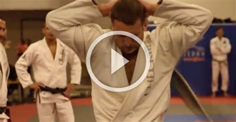 UFC Welterweight Gets Whipped Repeatedly For Earning BJJ