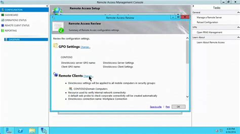 (Part 2) Step-by-Step DirectAccess Installation Guide on
