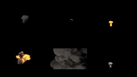 Realystic Smoke And Fire Motion Graphics Pack